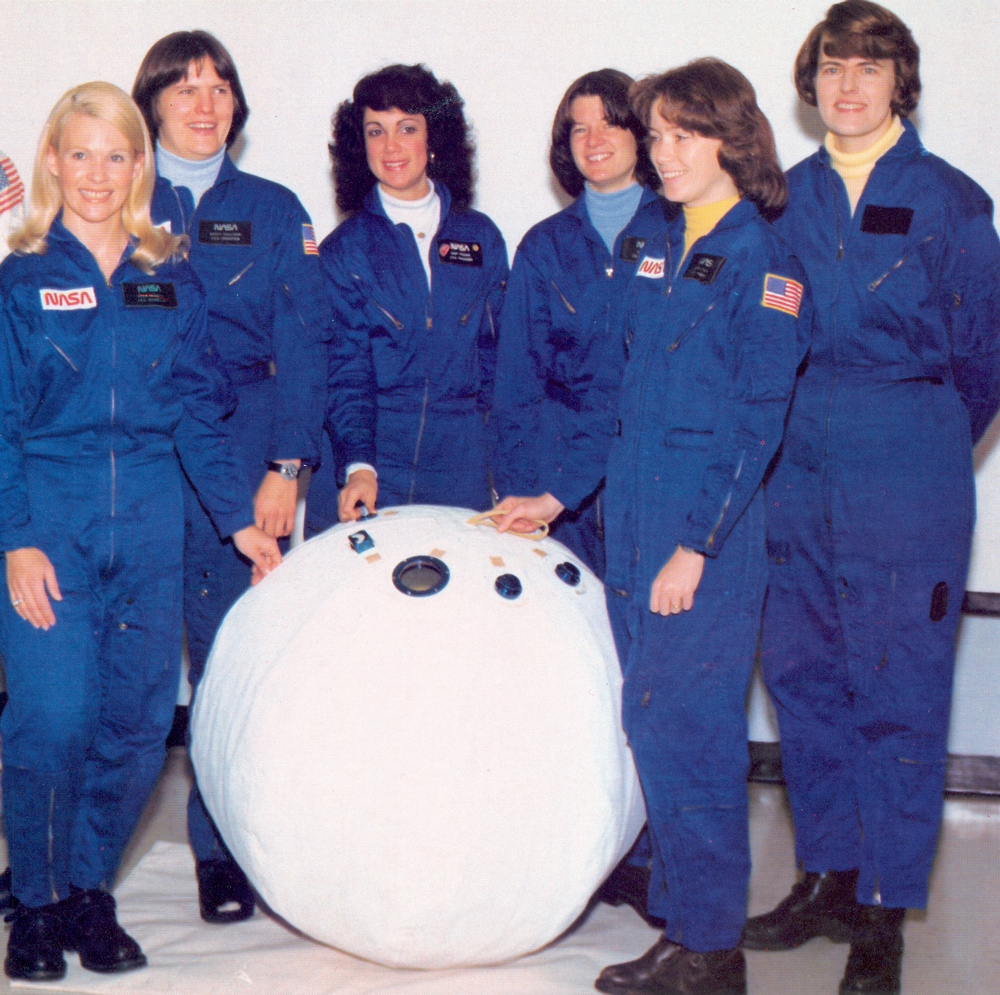 First six female astronauts.