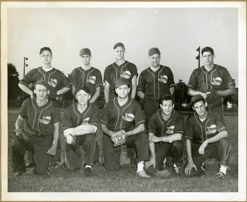 NAC Softball team pose