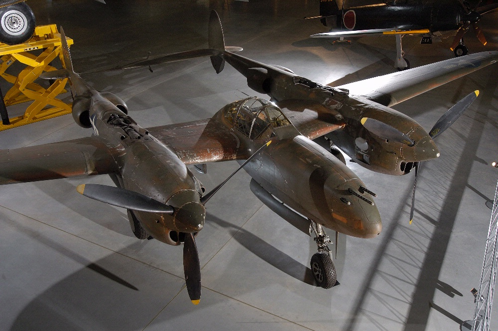 Lockheed P-38 at the Udvar-Hazy Center