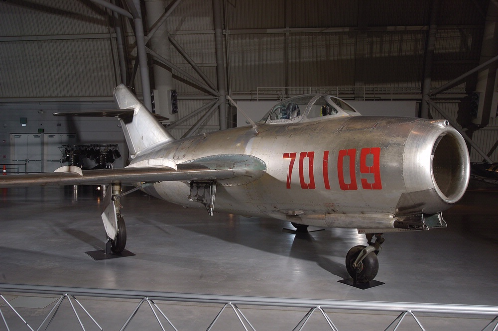 "Mikoyan-Gurevich MiG-15bis ""Fagot B"" at the Udvar-Hazy Center"