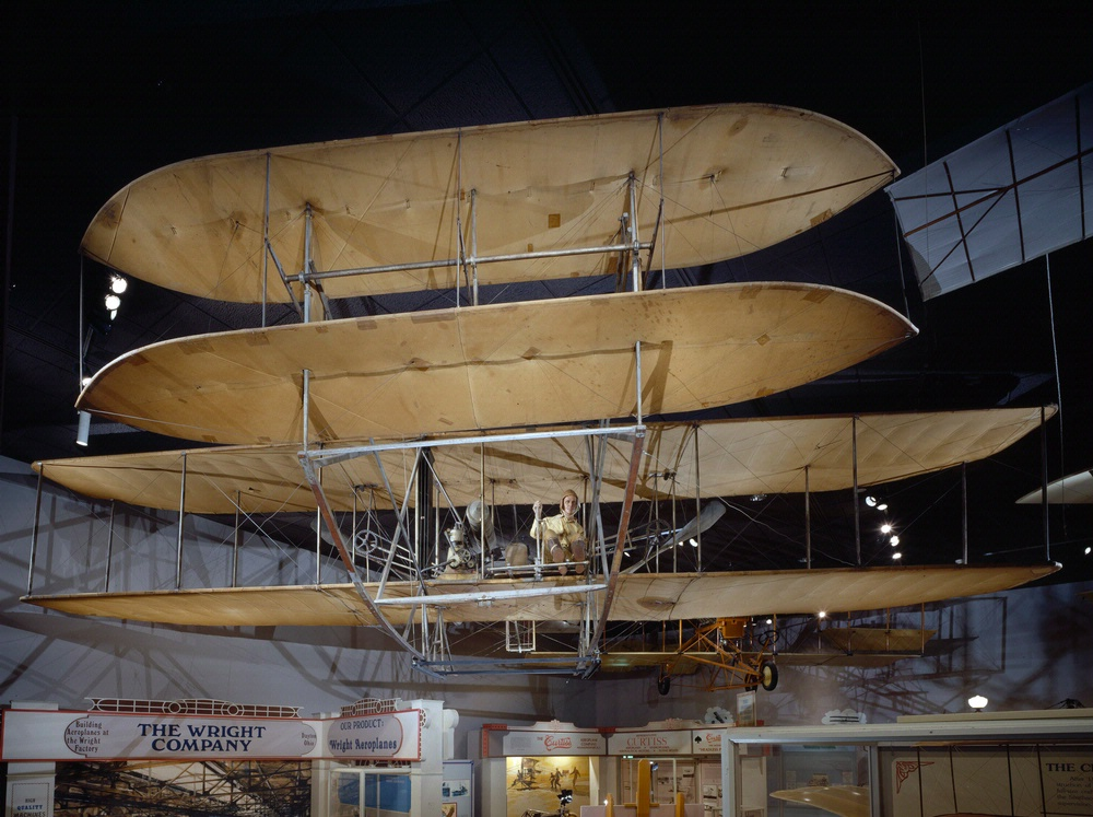 Wright 1909 Military Flyer