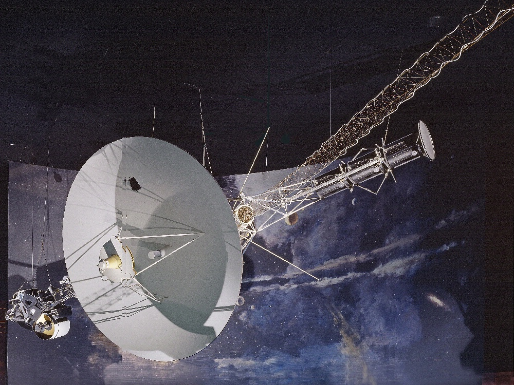 Voyager Spacecraft in Exploring the Planets