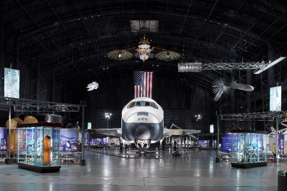 James S. McDonnell Space Hangar at the Steven F. Udvar-Hazy Center