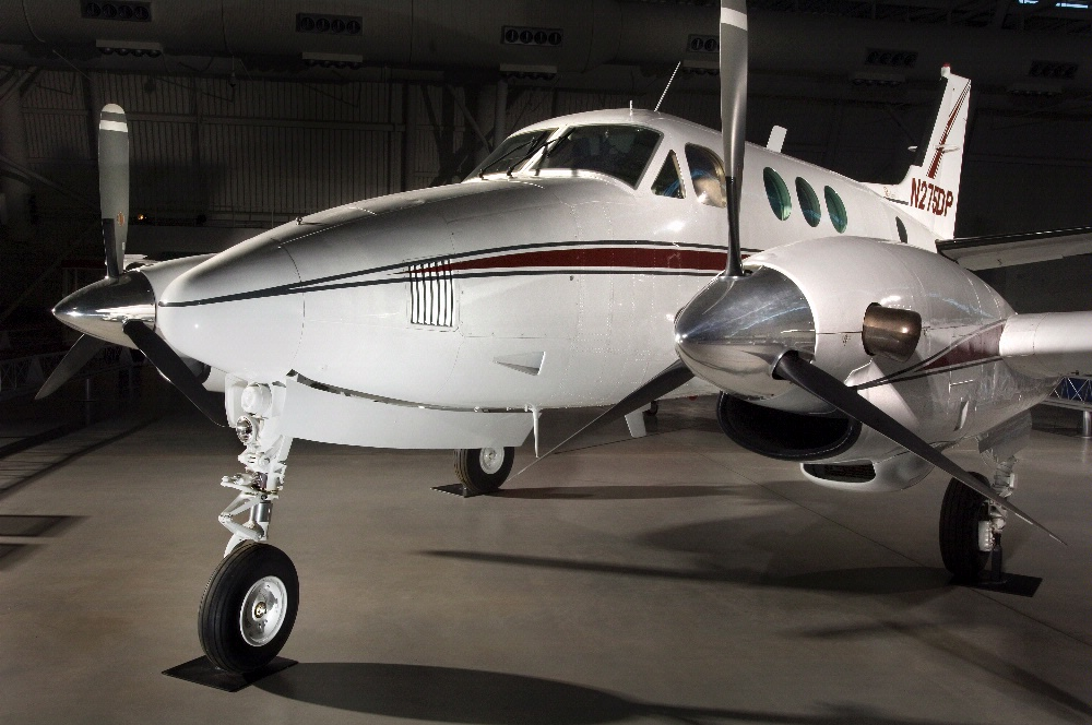 Beechcraft King Air at the Udvar-Hazy Center