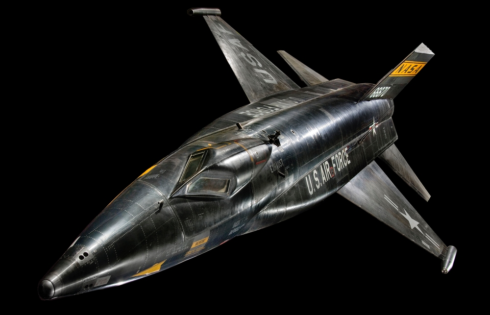 North American X-15 in Boeing Milestones of Flight Hall