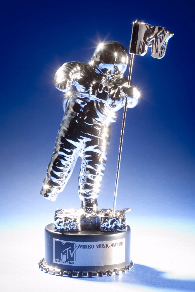 "MTV ""Moonman"" Video Music Awards Statuette"