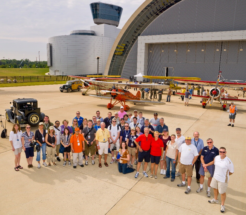 Become A Pilot Day Tweetup Group Photo