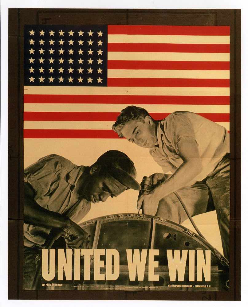 "Poster: ""United We Win"""