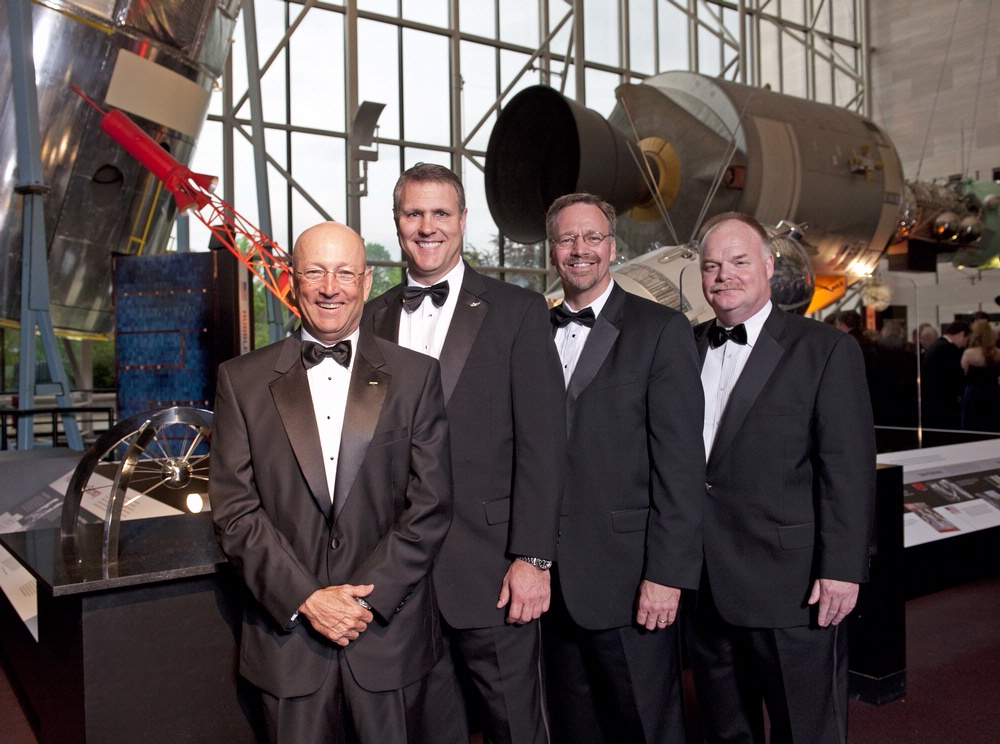 BAE Systems Executives at 2011 Trophy Awards
