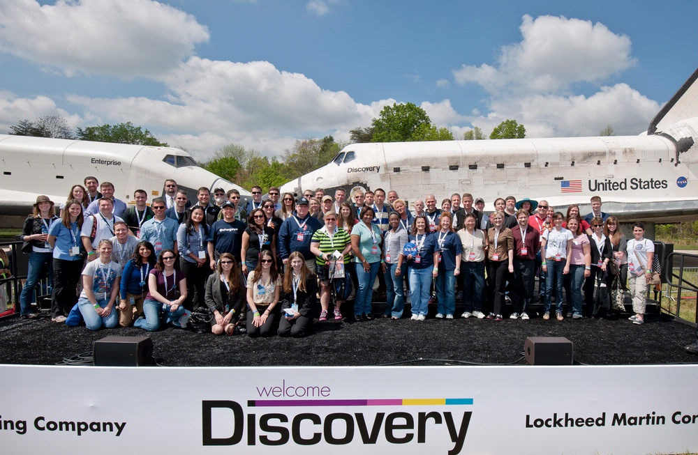 Discovery NASA Social with Space Shuttles Enterprise and Discovery