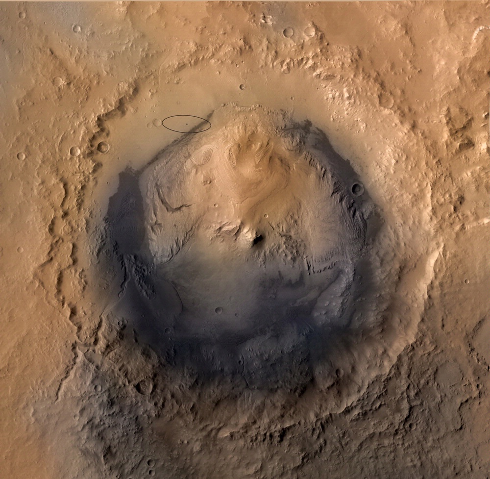 Mars' Gale Crater
