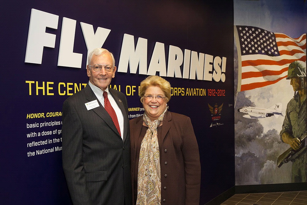 Gen. J.R. Dailey and Linda Hudson