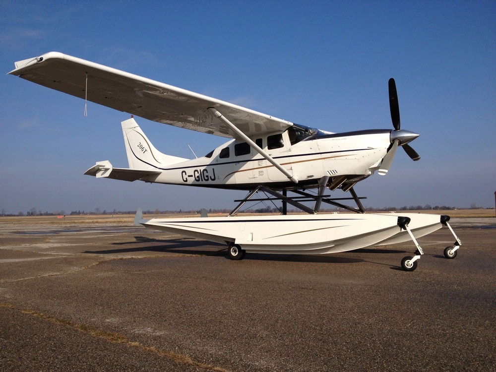 Become a Pilot Family Day 2013: Cessna Allison Turbine 206 Amphibian