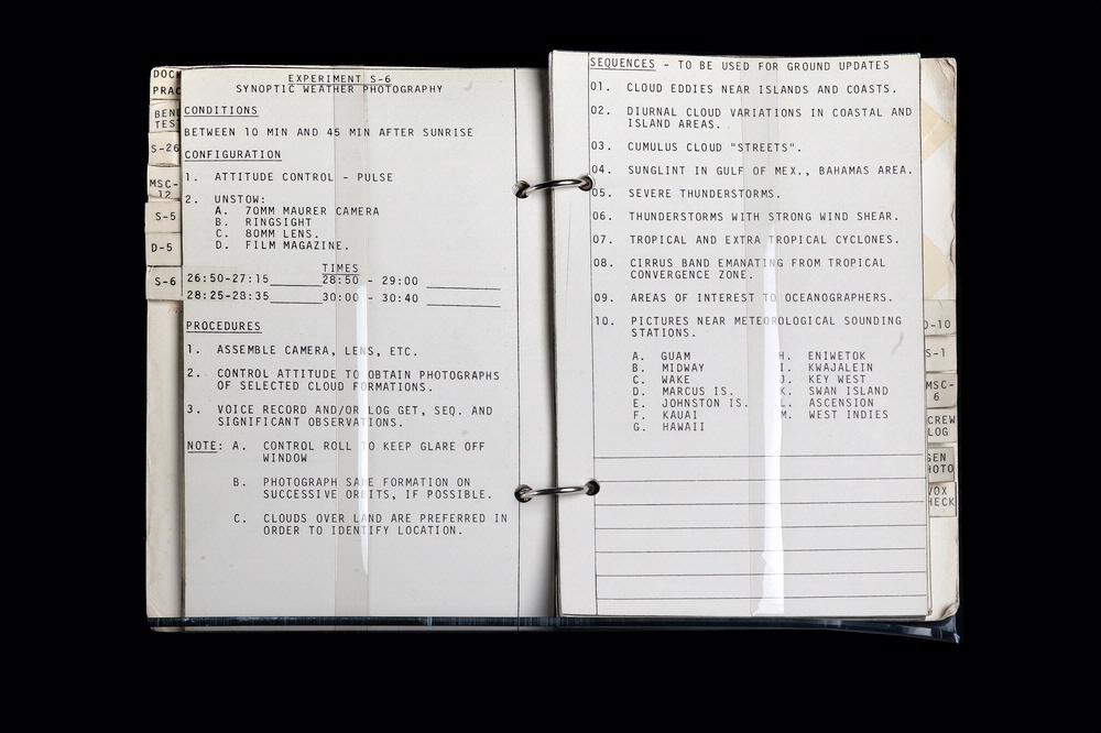 Gemini 10 Experiment Log Book