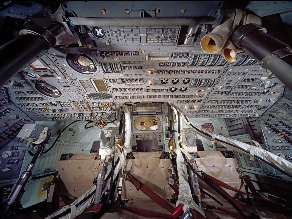 Apollo Interiors uk Apollo Command Module Interior