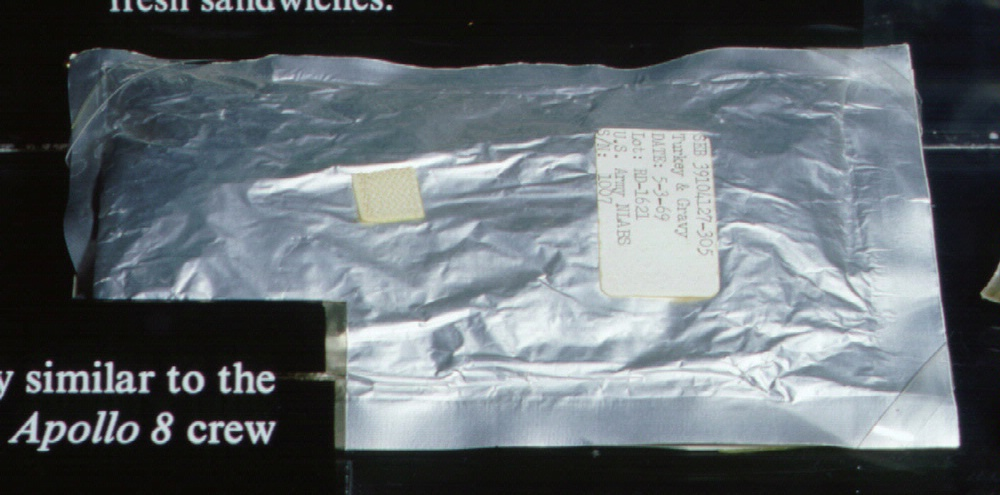 Apollo Space Food Turkey and Gravy
