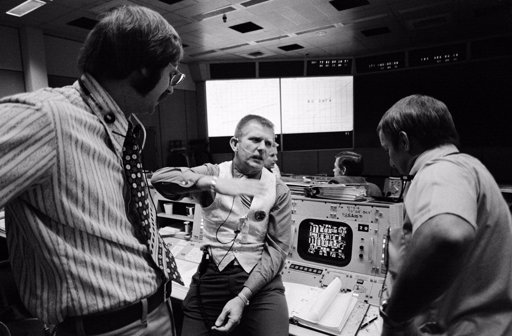 NASA Apollo Mission Control   National Air and Space Museum