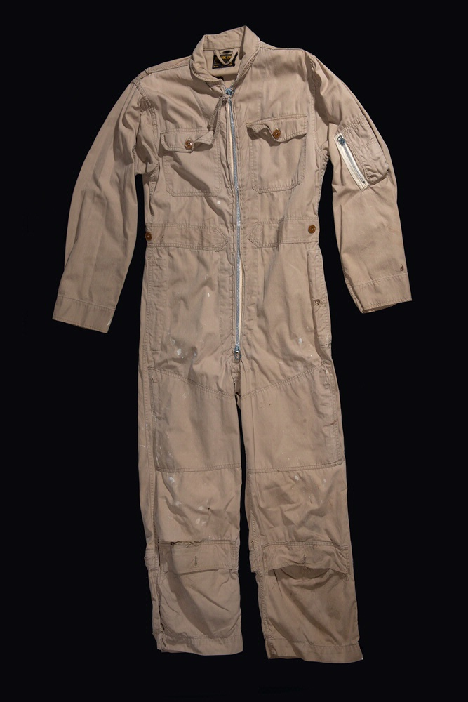 Cdr. William B. Ecker Flight Suit