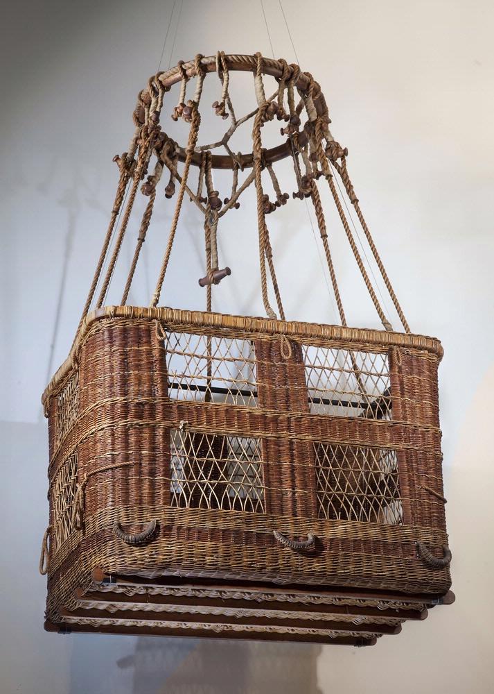 Capt Hawthorne C Gray S Balloon Basket Pioneers Of Flight