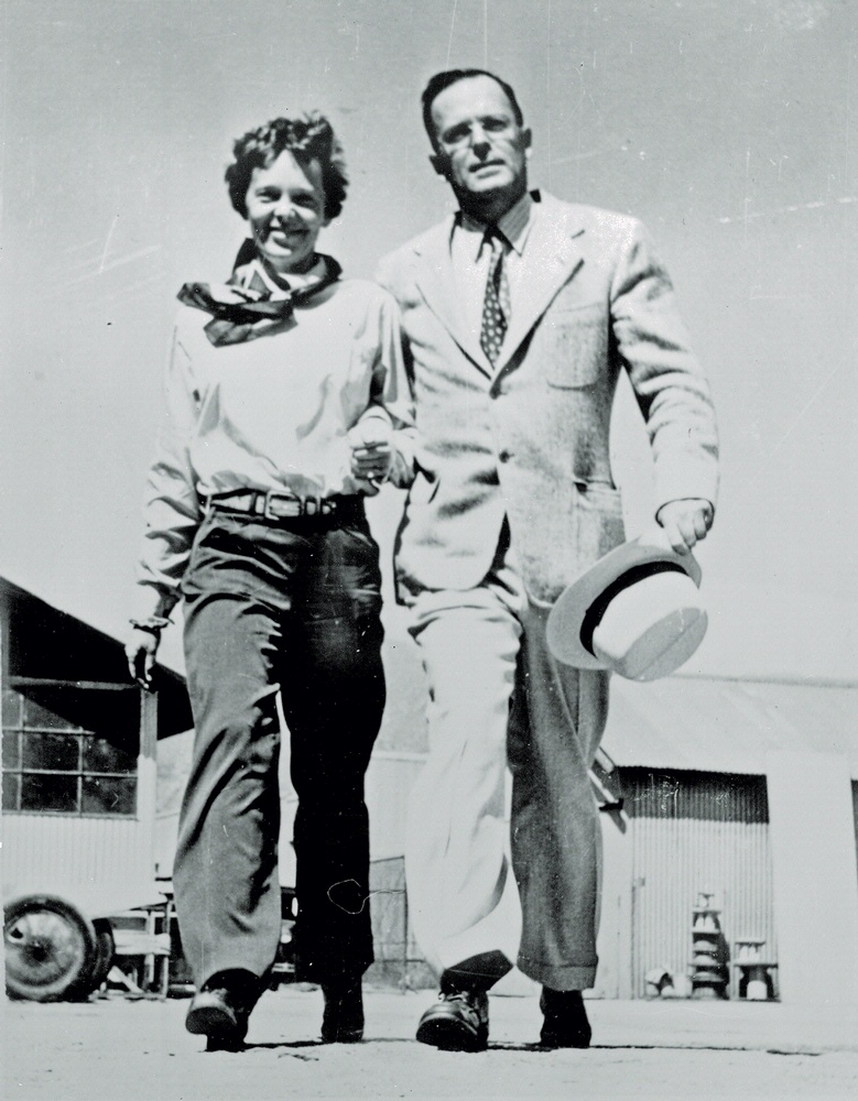 Earhart and George Palmer Putnam
