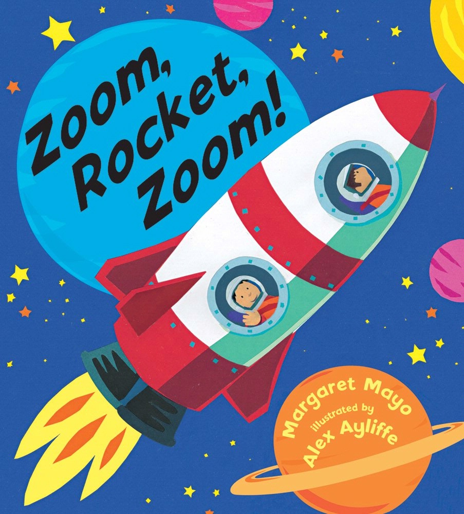 Book Cover: Zoom, Rocket, Zoom!