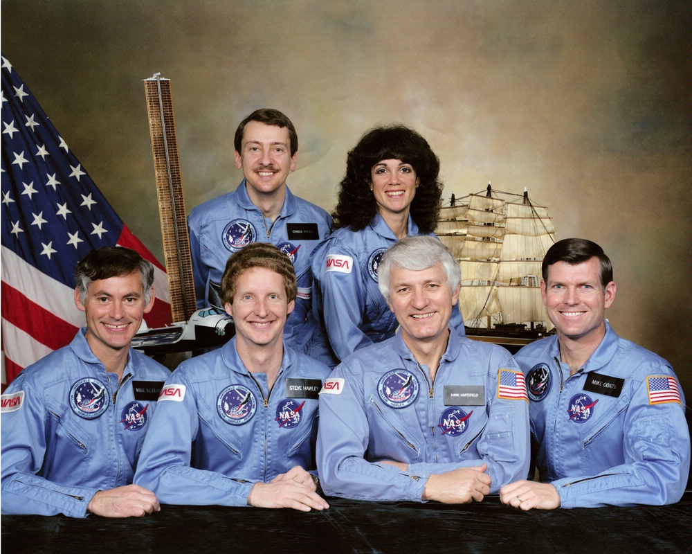 Crew of STS-41D