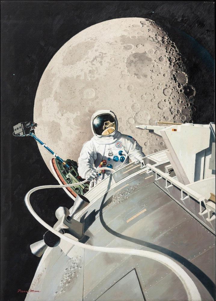 The EVA of Astronaut James Irwin