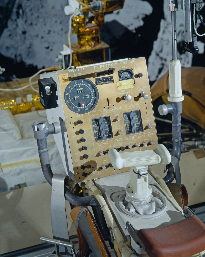 Lunar Roving Vehicle Control