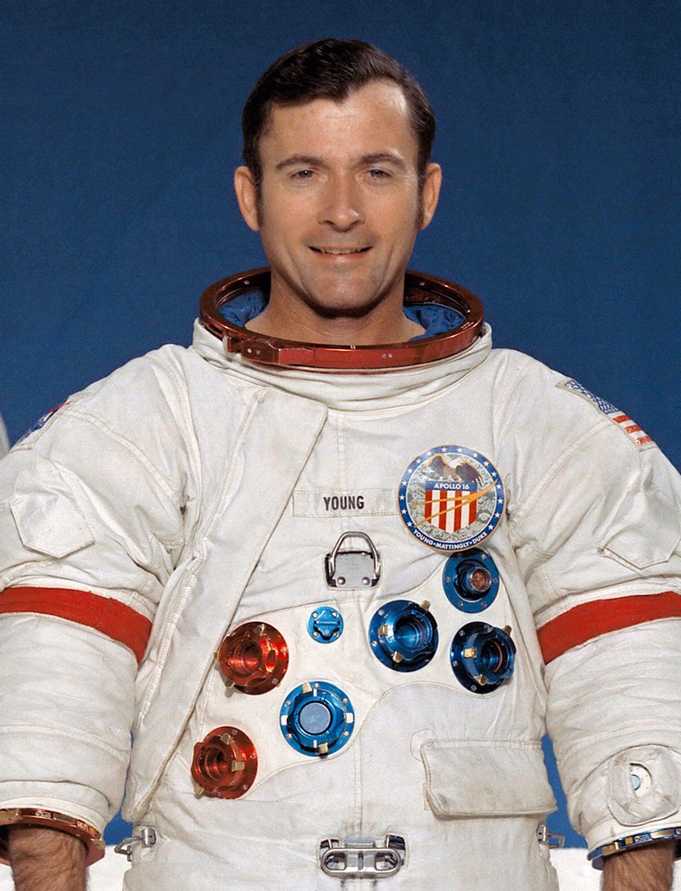 Astronaut John Young | National Air and Space Museum