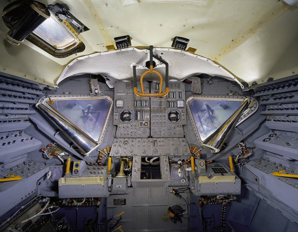 Lunar Module 2 Interior in Exploring the Moon