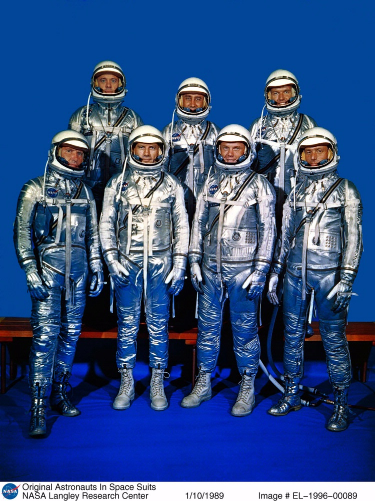 The First American Astronauts - Mercury 7