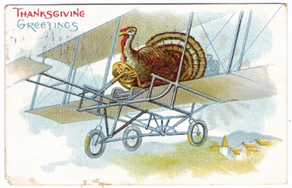 Turkey Aviator Postcard