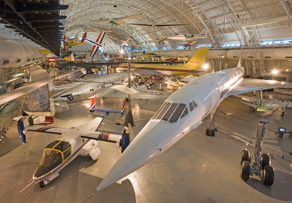 Boeing Aviation Hangar at Steven F. Udvar-Hazy Center