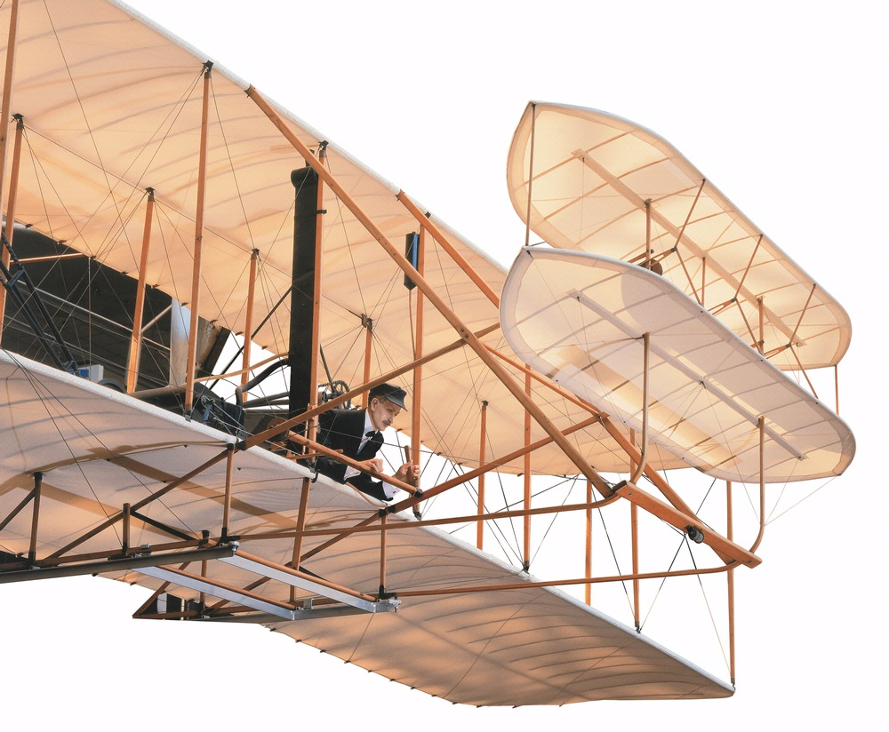 Wright Flyer in Milestones of Flight