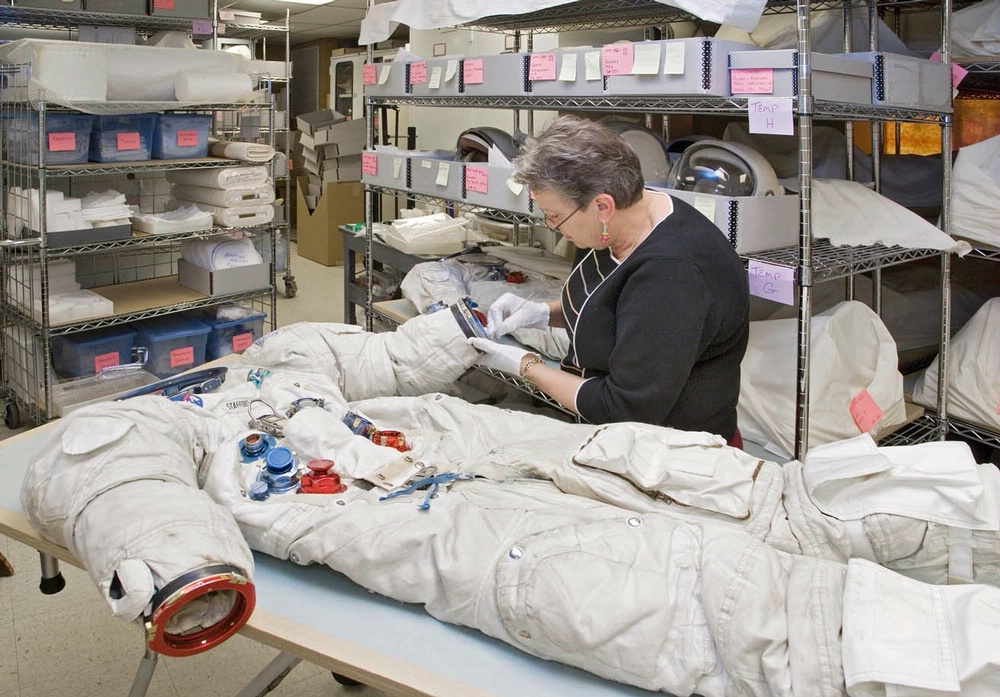 Preservation and Storage of Spacesuits
