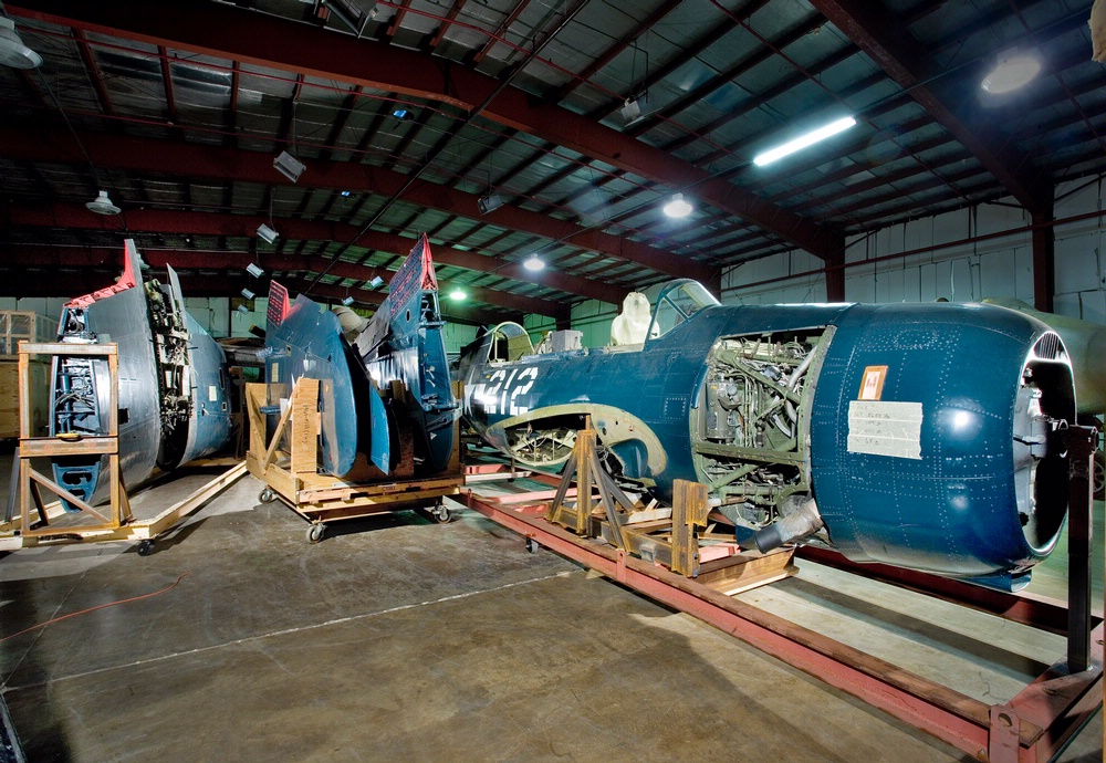 The Curtiss SB2C-5 Helldiver Awaits Restoration