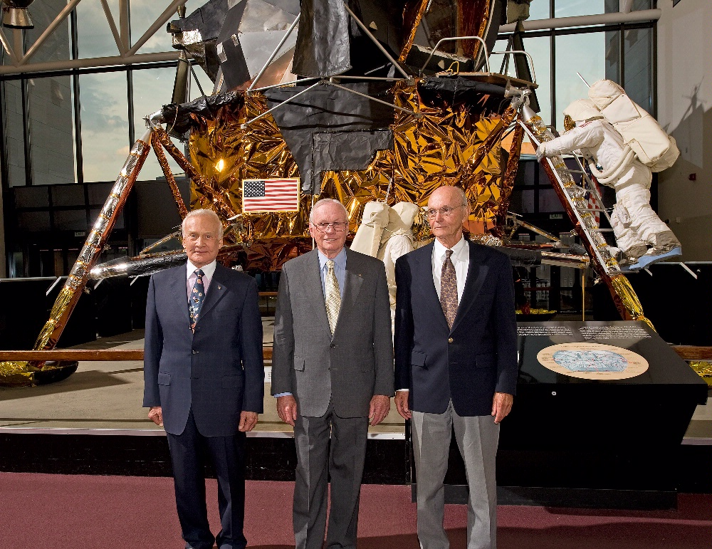 Apollo 11 Crew at National Air and Space Museum's John H. Glenn Lecture
