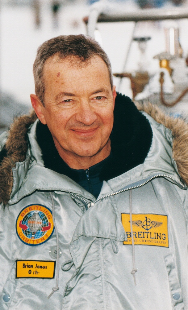 Brian Jones, Breitling Orbiter 3 Pilot