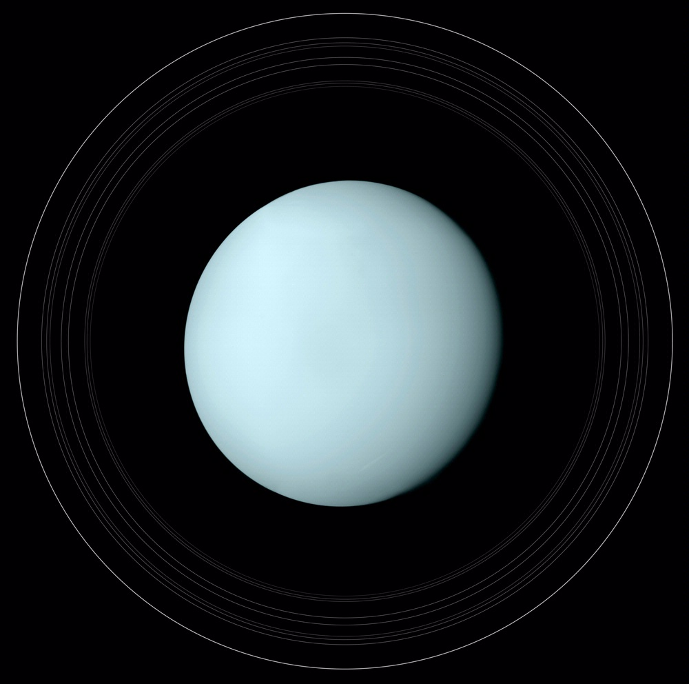 Uranus and Its Rings