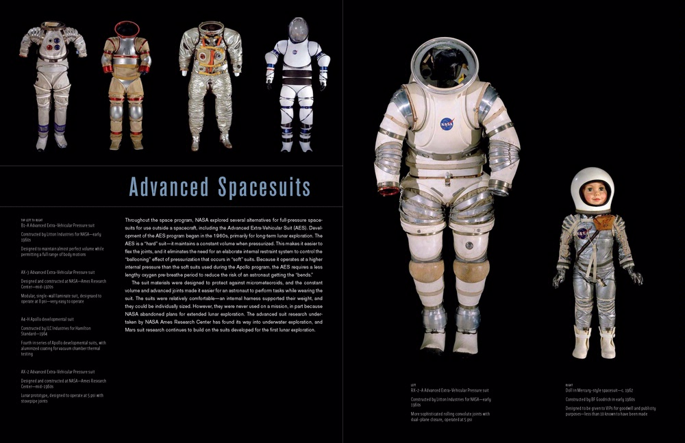 Advanced Spacesuits in America's Hangar