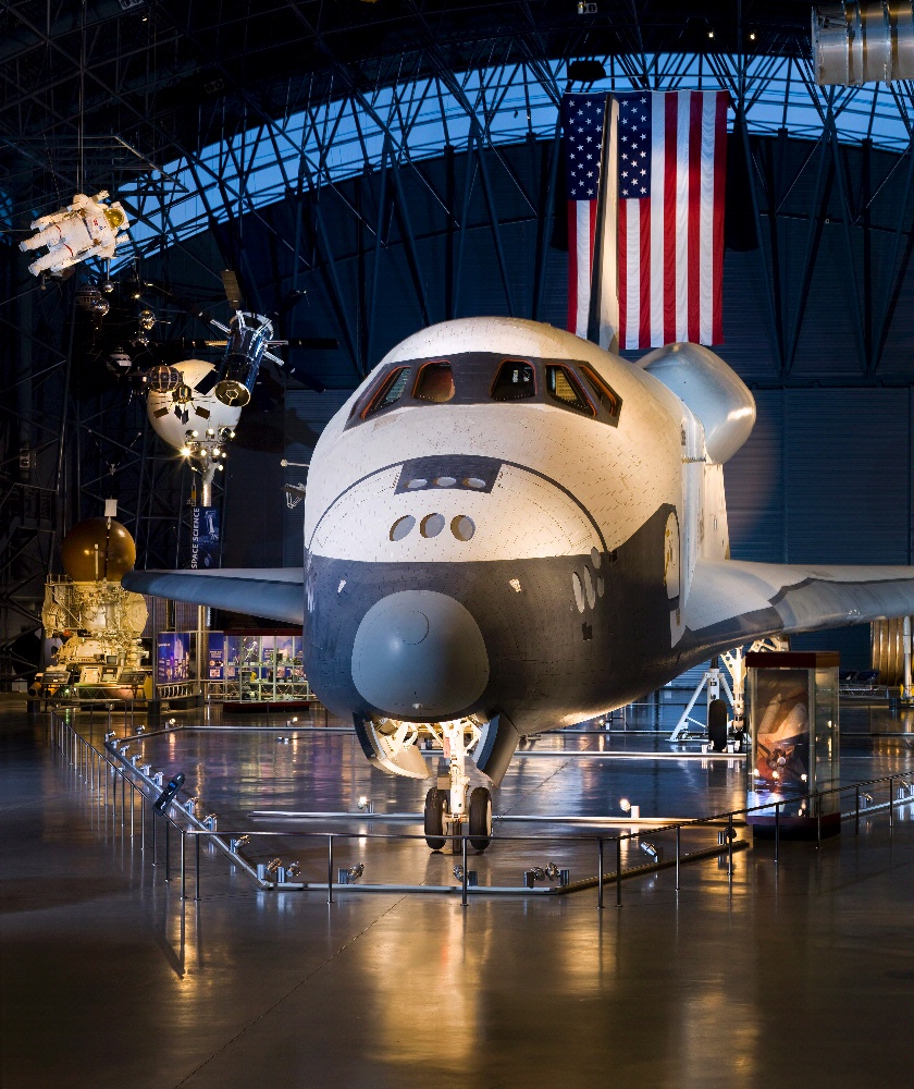 Space Shuttle Enterprise at the Steven F. Udvar-Hazy Center