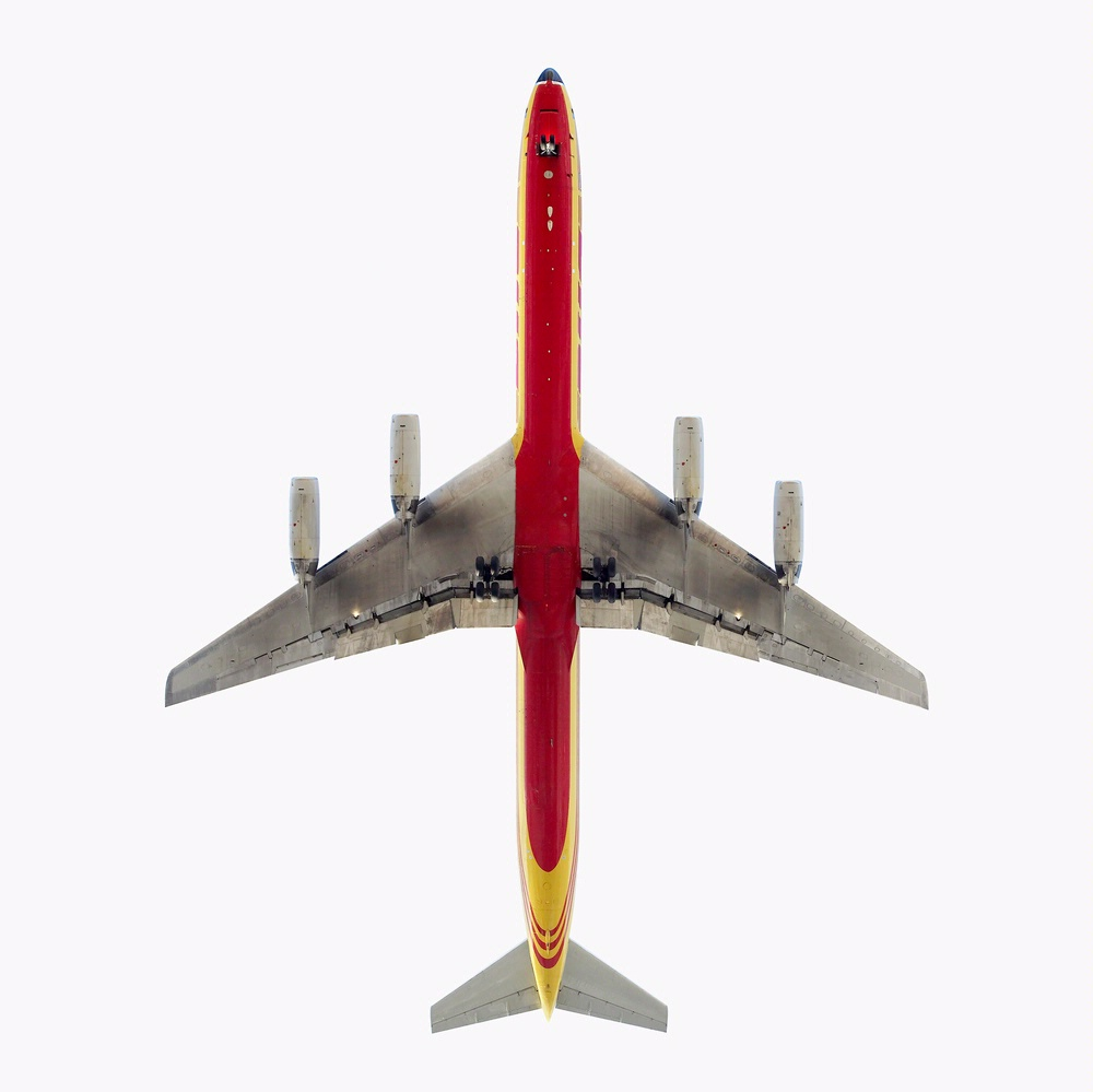 <i>DHL Cargo Douglas DC-8</i> on display in <i>AirCraft: The Jet As Art</i>