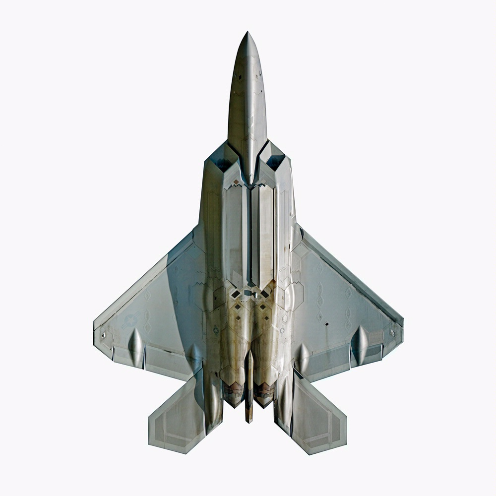 <i>Lockheed Martin F-22A Raptor</i> on display in <i>The Jet As Art</i>