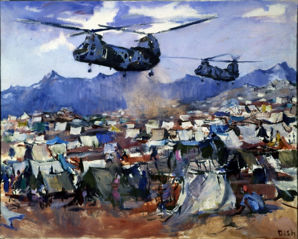<i>Helo Relief</i> in <i>Fly Marines!</i>