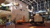 Apollo Lunar Module Moves to Boeing Milestones of Flight Hall