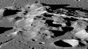 Rugged Mountains on the Moon