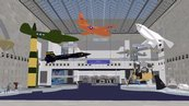 Artist rendering of changes to Milestones of Flight Hall