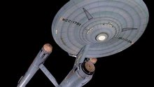 <em>Star Trek</em> starship <em>Enterprise</em> Studio Model