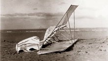 1900 Wright Glider Wrecked