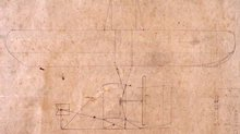 1903 Wright Flyer Sketch Repoduction